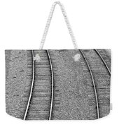 I Curve To The Left Weekender Tote Bag