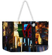 I Did It For Love Weekender Tote Bag