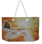 I Dreamed About My Butterfly Weekender Tote Bag