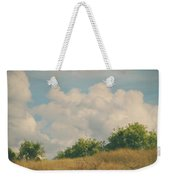 I Exhale And Tell Myself To Smile Weekender Tote Bag