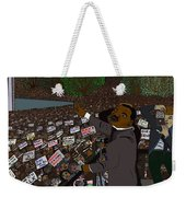 I Have A Dream Weekender Tote Bag by Karen Elzinga