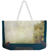 I Just Sat There Staring Out At The Fog Weekender Tote Bag