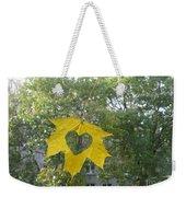 I Love Autumn 02 Weekender Tote Bag