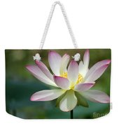 I Love Lotus Weekender Tote Bag