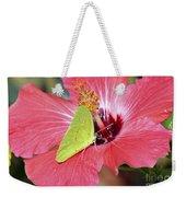 I Love My Hibiscus Weekender Tote Bag