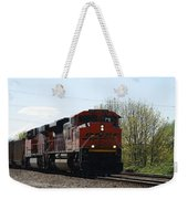 I See The Train A Comin' Weekender Tote Bag