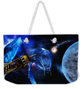 I Think Something Is Out There Weekender Tote Bag
