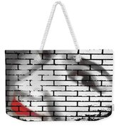 I Would Never Hurt A Fly Weekender Tote Bag