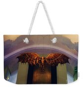 Icarus In The Louis Armstrong International Airport In New Orleans Weekender Tote Bag by John Malone