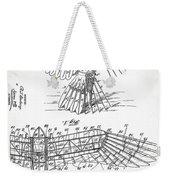 Icarus Patent 1889 Weekender Tote Bag
