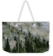 Ice-coated Arborvitae Weekender Tote Bag