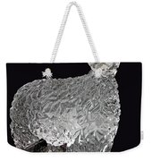 Ice Cold Lamb Carved In Ice Weekender Tote Bag