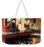 Ice Cream Parlor Weekender Tote Bag