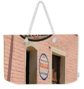 Ice Cream Shop In Todos Santos Weekender Tote Bag