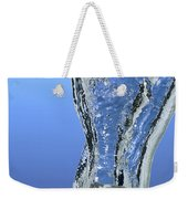 Ice Cube Dropped In Water Weekender Tote Bag