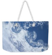 Ice Floes Along The Coastline Weekender Tote Bag