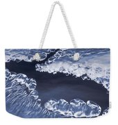 Ice Formations On Small Creek Weekender Tote Bag