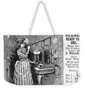 Ice Machine, 1891 Weekender Tote Bag