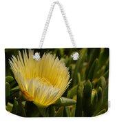 Ice Plant Bloom Weekender Tote Bag