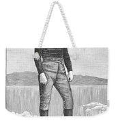 Ice Skater, 1880 Weekender Tote Bag