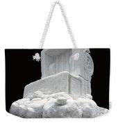 Ice Snow Truckers Weekender Tote Bag