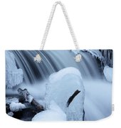 Ice Tombstone Frozen In Time Weekender Tote Bag