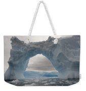Iceberg With A Natural Arch, Antarctic Weekender Tote Bag
