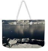 Icefloe In The Neumayer Channel Weekender Tote Bag