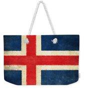 Iceland Flag Weekender Tote Bag