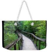 Ichetucknee Forest Pathway Weekender Tote Bag