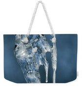 Icicle Formation Weekender Tote Bag