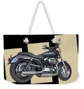 Iconic Harley Davidson Weekender Tote Bag