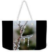 Icy Branch-7529 Weekender Tote Bag