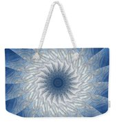 Icy Mandala 7 Weekender Tote Bag