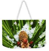 Icy Pine 1 Weekender Tote Bag