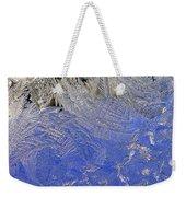 Icy Window Pane Weekender Tote Bag