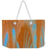 Idol Of Pomos Abstract Weekender Tote Bag