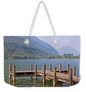 idyllic tarn in Italy Weekender Tote Bag by Joana Kruse