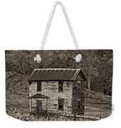 If These Walls Could Talk Sepia Weekender Tote Bag