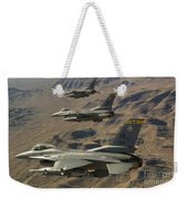 Ighter Jets Return From The Nevada Test Weekender Tote Bag
