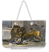 Ignatius Of Antioch (c35-110) Weekender Tote Bag