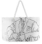 Igor Stravinsky, Russian Composer Weekender Tote Bag