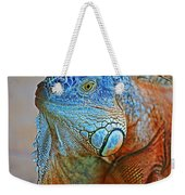 Iguana Close-up Weekender Tote Bag
