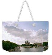 Notre Dame Paris Weekender Tote Bag