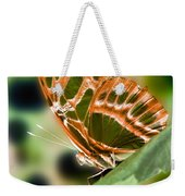 Illuminated Butterfly Weekender Tote Bag