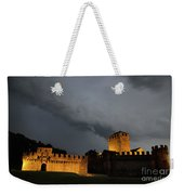 Illuminated Castle At Night Weekender Tote Bag