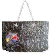 Illusion Of Black Rain Weekender Tote Bag