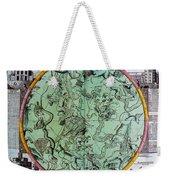 Illustration From Atlas Coelestis Weekender Tote Bag