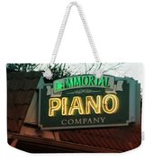 Immortal Piano Co Weekender Tote Bag