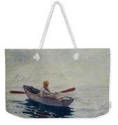 In A Boat Weekender Tote Bag